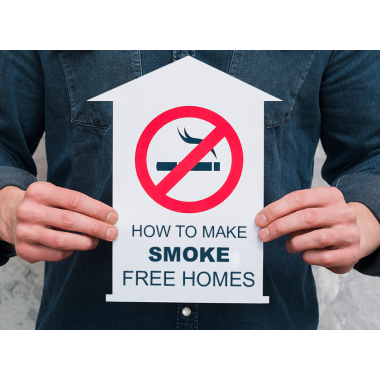 How To Make Smoke Free Home