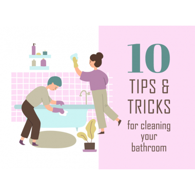 10 BATHROOM CLEANING TIPS AND TRICKS