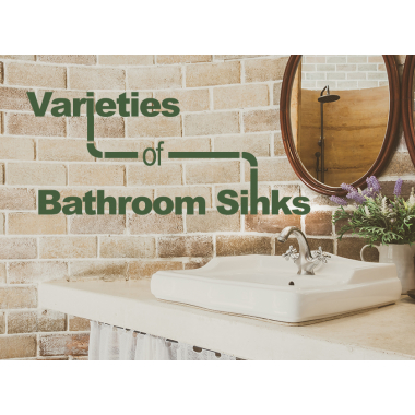 The Many Varieties of Bathroom Sinks
