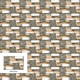 Zibon Ceramic Elevation Digital Print Tile TBKZ40078