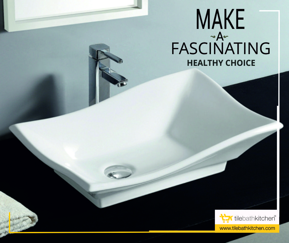 Stride the trends of washbasin