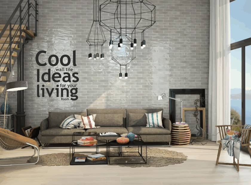 Awesome Wall Tile Ideas For Your Living Room