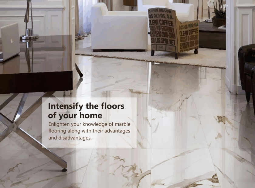 Know the Pros of Marble flooring