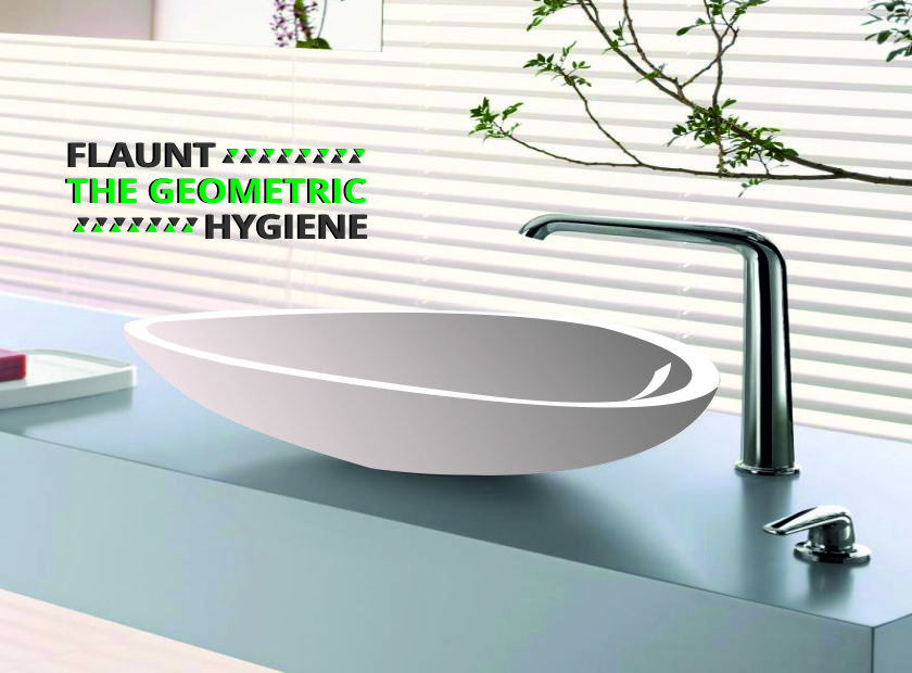 Cultivate the trends of geometry in your bathroom