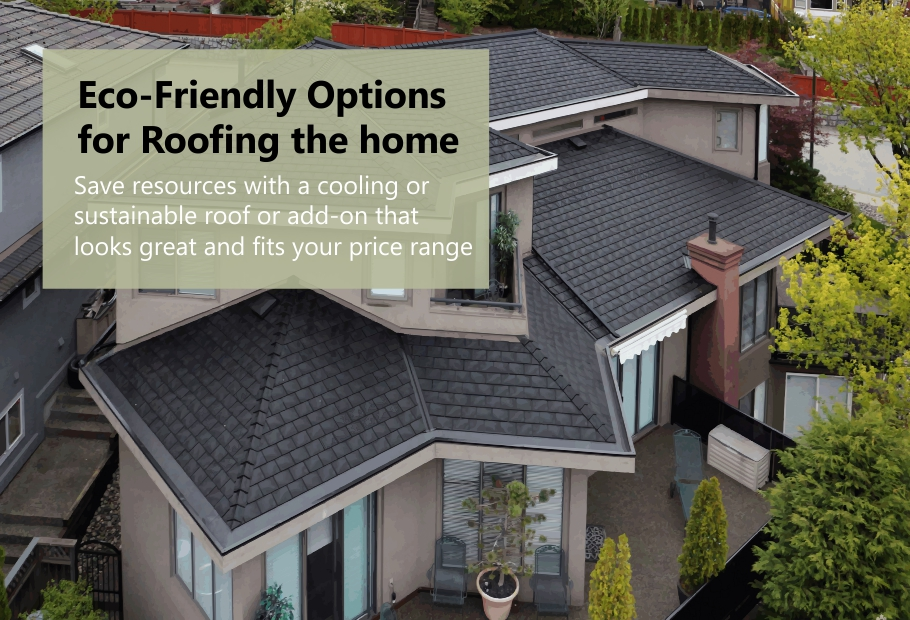 Eco-Friendly Options for Roofing the home