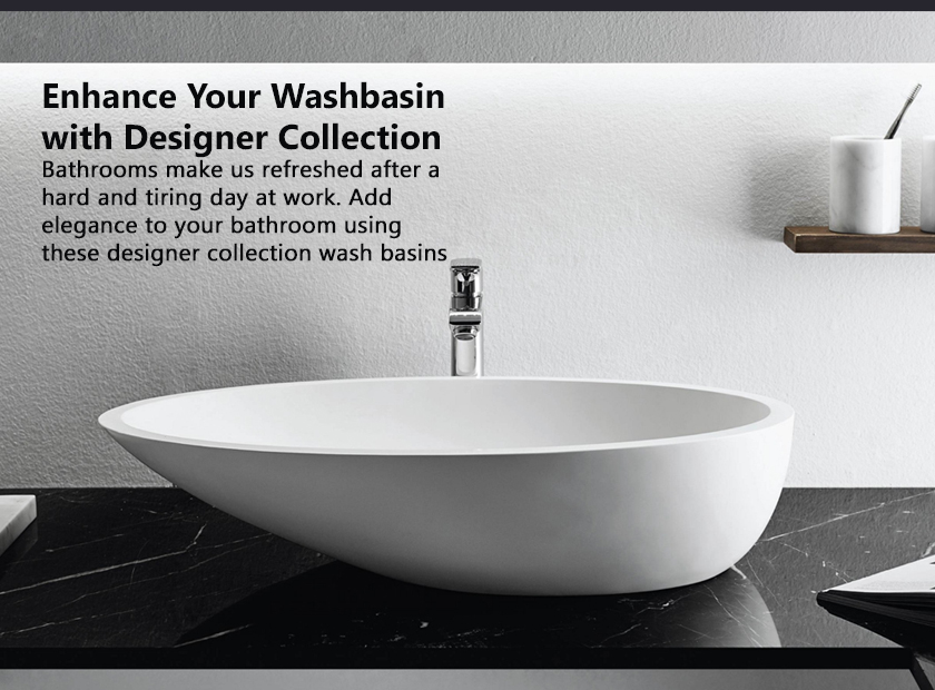 Enhance Your Washbasin With Designer Collection