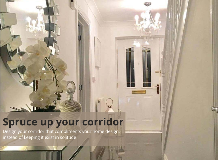 Spruce up your corridor