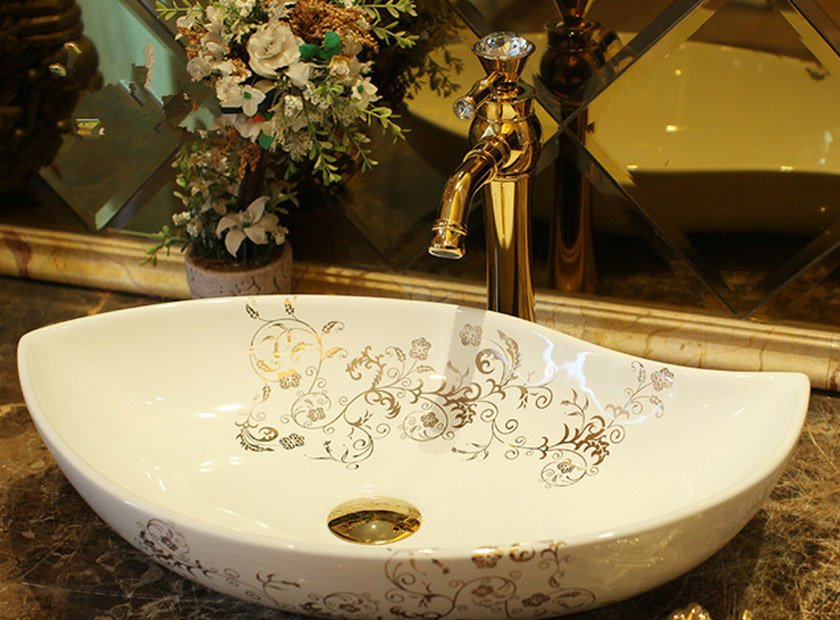Brace your bathroom with dignified ceramic wash basin