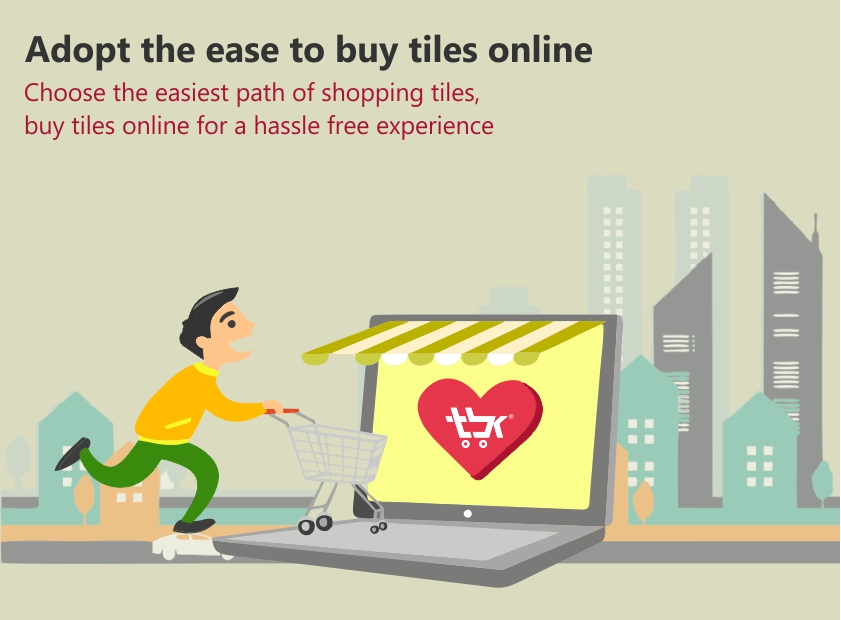 Adopt The Ease To Buy Tiles Online In India