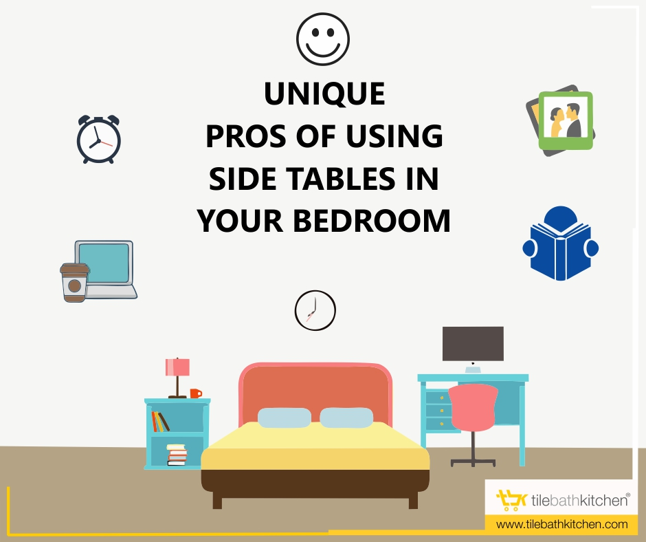 Unique pros of using side tables in your bedroom