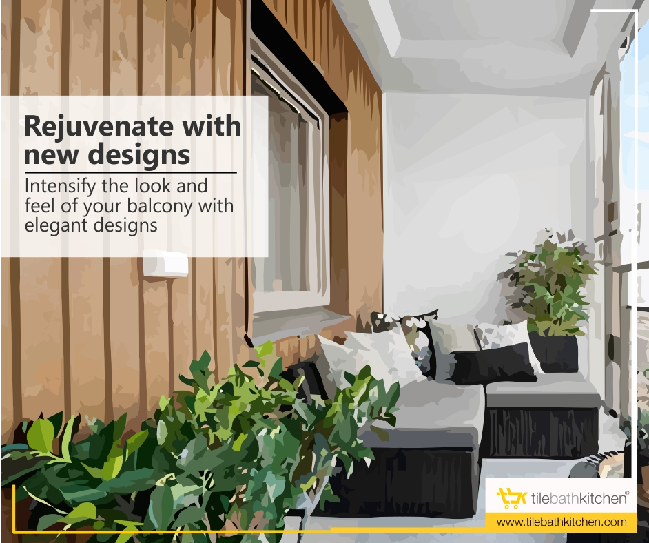 Modernise the feel of your balcony