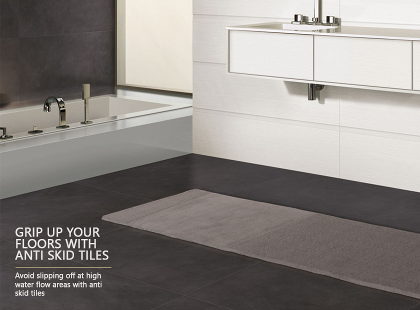 Grip up your floors with anti skid tiles