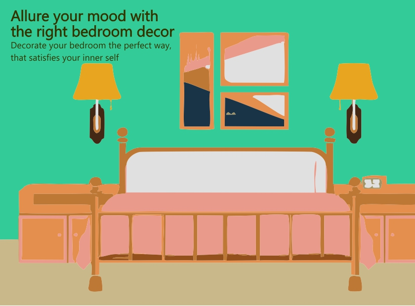 Allure your mood with the right bedroom decor