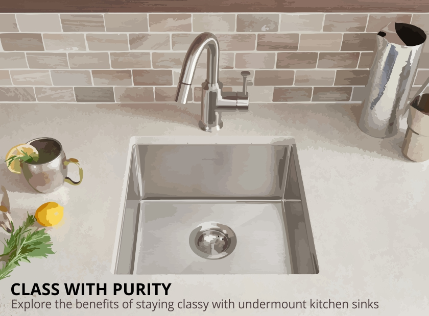 Flare the feel of your kitchen countertops