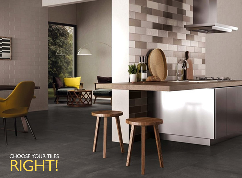 Know your kitchen and bathroom tiles - right