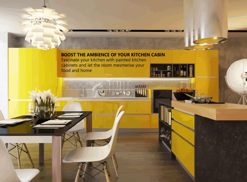 Define the charisma of your kitchen cabinets