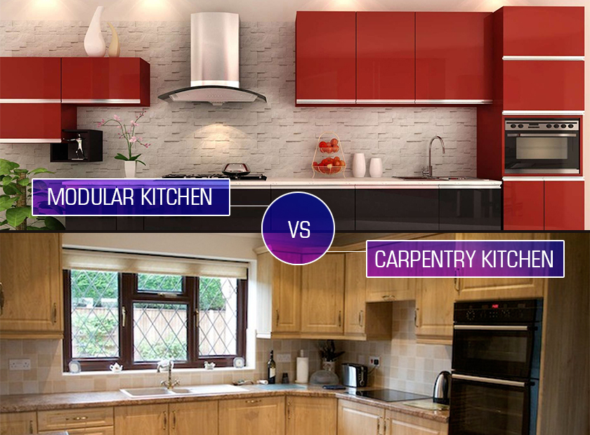 Modular V/S Carpenter-Made Kitchen: Which Is Right For Your Home