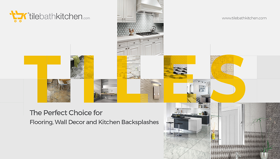 Tiles: The Perfect Choice for Flooring, Wall Decor and Kitchen Backsplashes