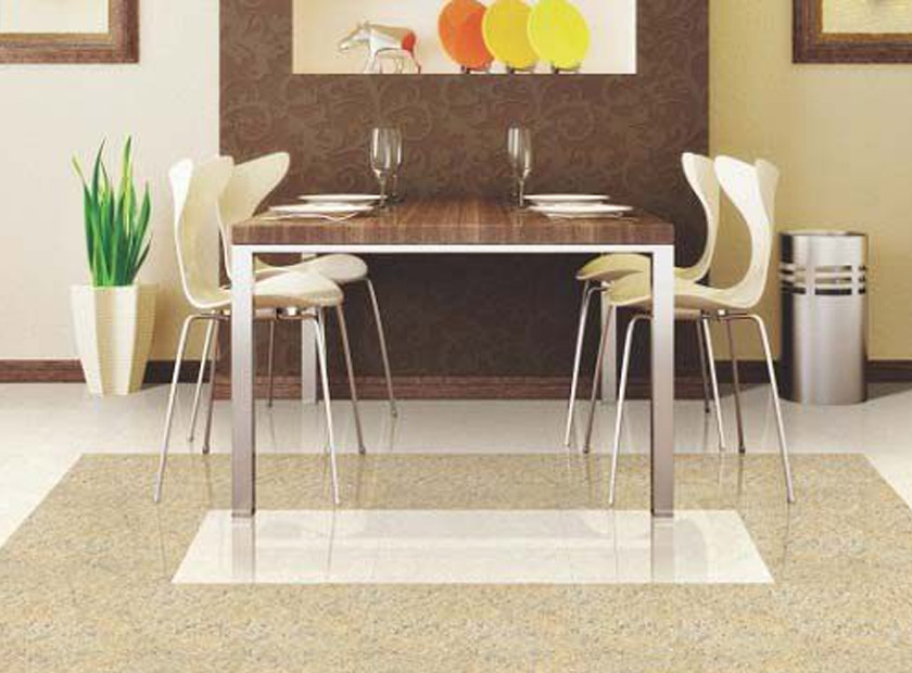 Allure the agility of your home with double charged vitrified tiles
