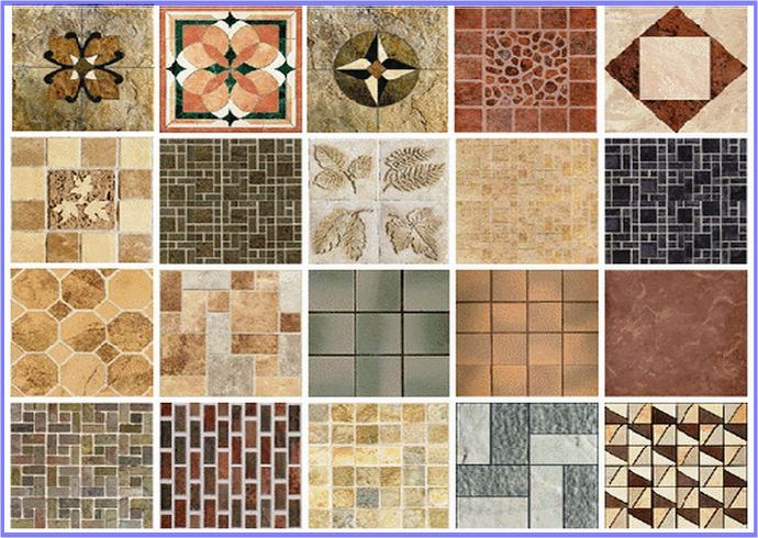 flooring tile modular style pattern inspiration floor topps patterns tiles laying and
